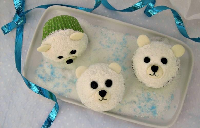 Cupcakes orsetti polari