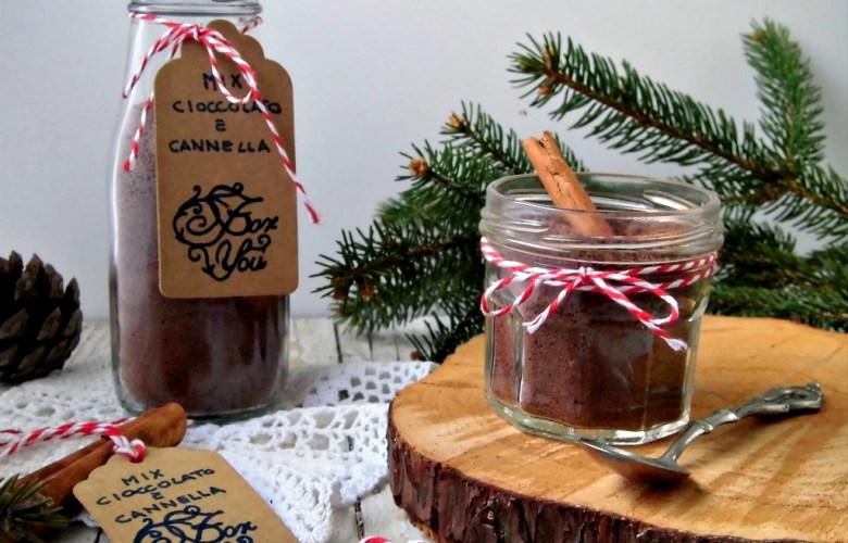 Preparato per cioccolata calda alla cannella