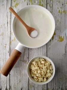 come fare la ganache al cioccolato bianco