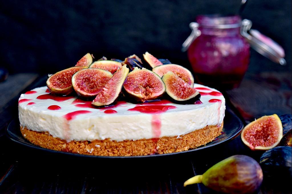 Cheesecake ai fichi, un ottimo dolce settembrino