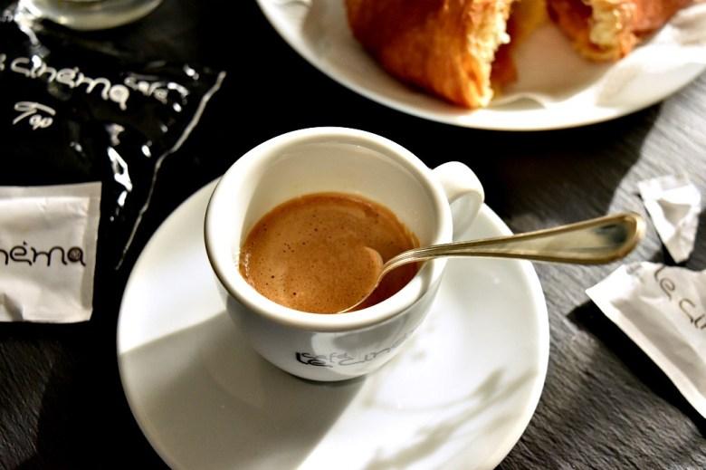 caffè Le Cinèma per una pausa di piacere- dolcidasogno