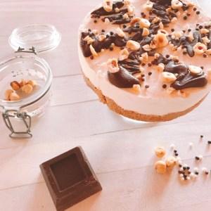 Torta Gelato panna e cioccolato