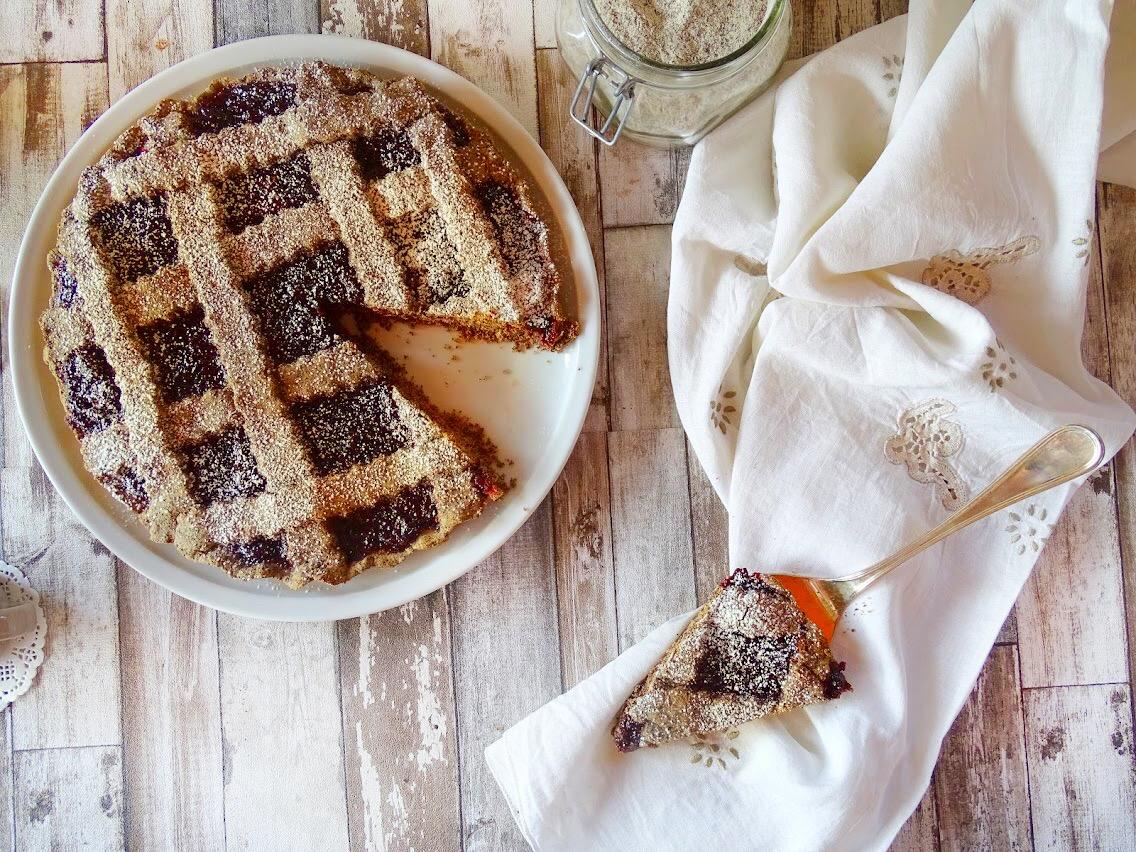 Crostata al grano saraceno