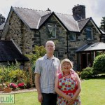 Owners Alex & Maureen Couper at Dolronwy