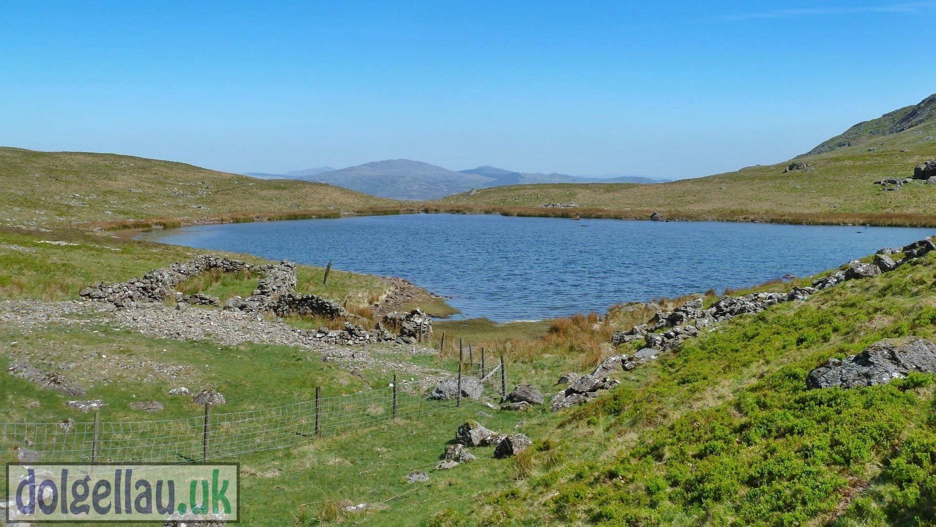 Looking North Over Llyn Aran