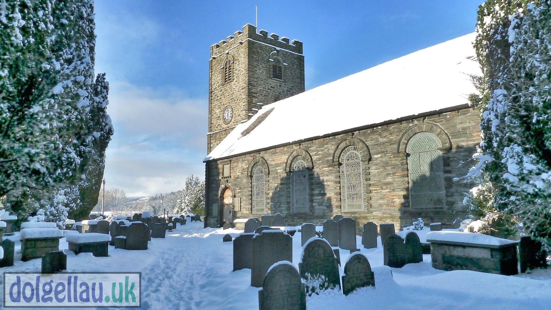 St. Marys Church in Winter