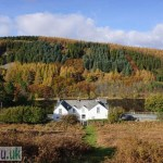 Gwernan Lake Hotel in Autumn