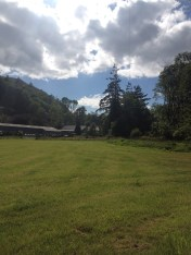 Doliago Campsite : towards house