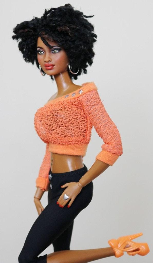 Toya- OOAK Customized HYBRID SIS Grace MBILI sculpt on a ...
