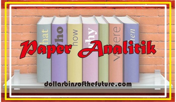 Contoh Paper Analitik
