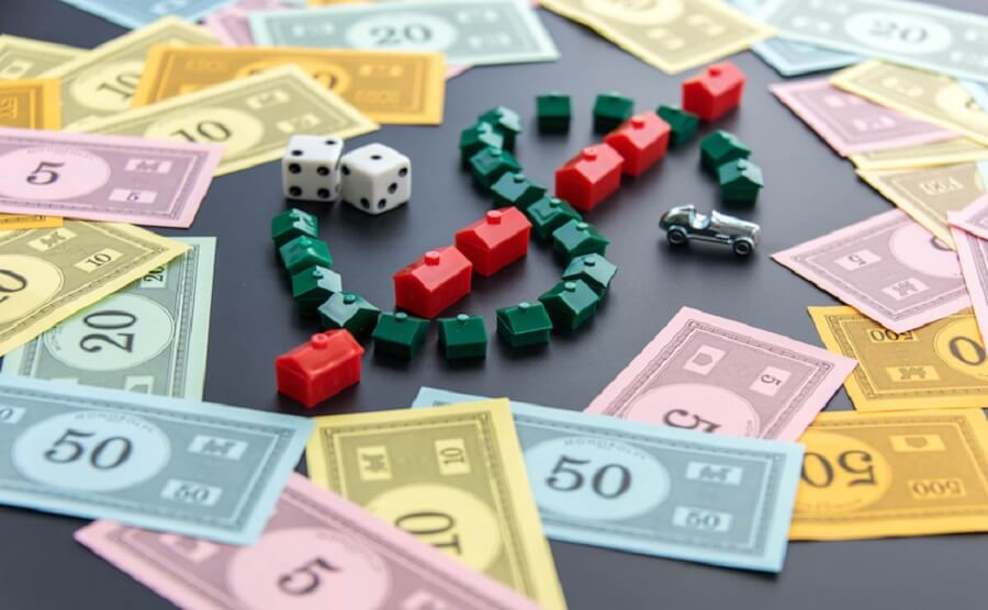 Monopoly game What is a secured loan