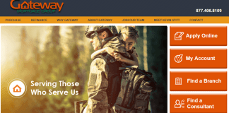 gateway mortgage official website first page