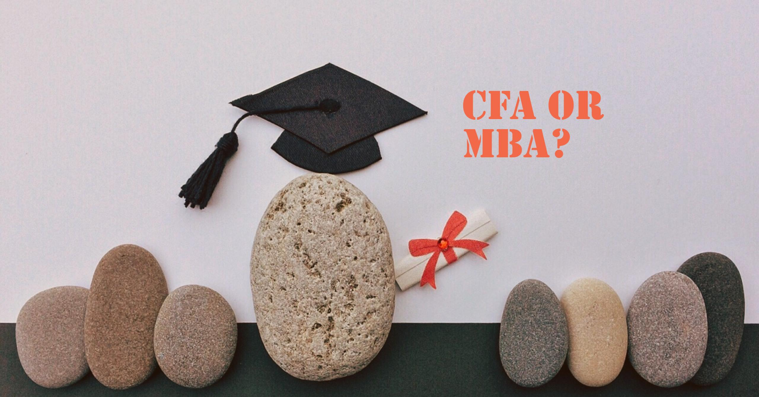 should you get a cfa or an mba in singapore