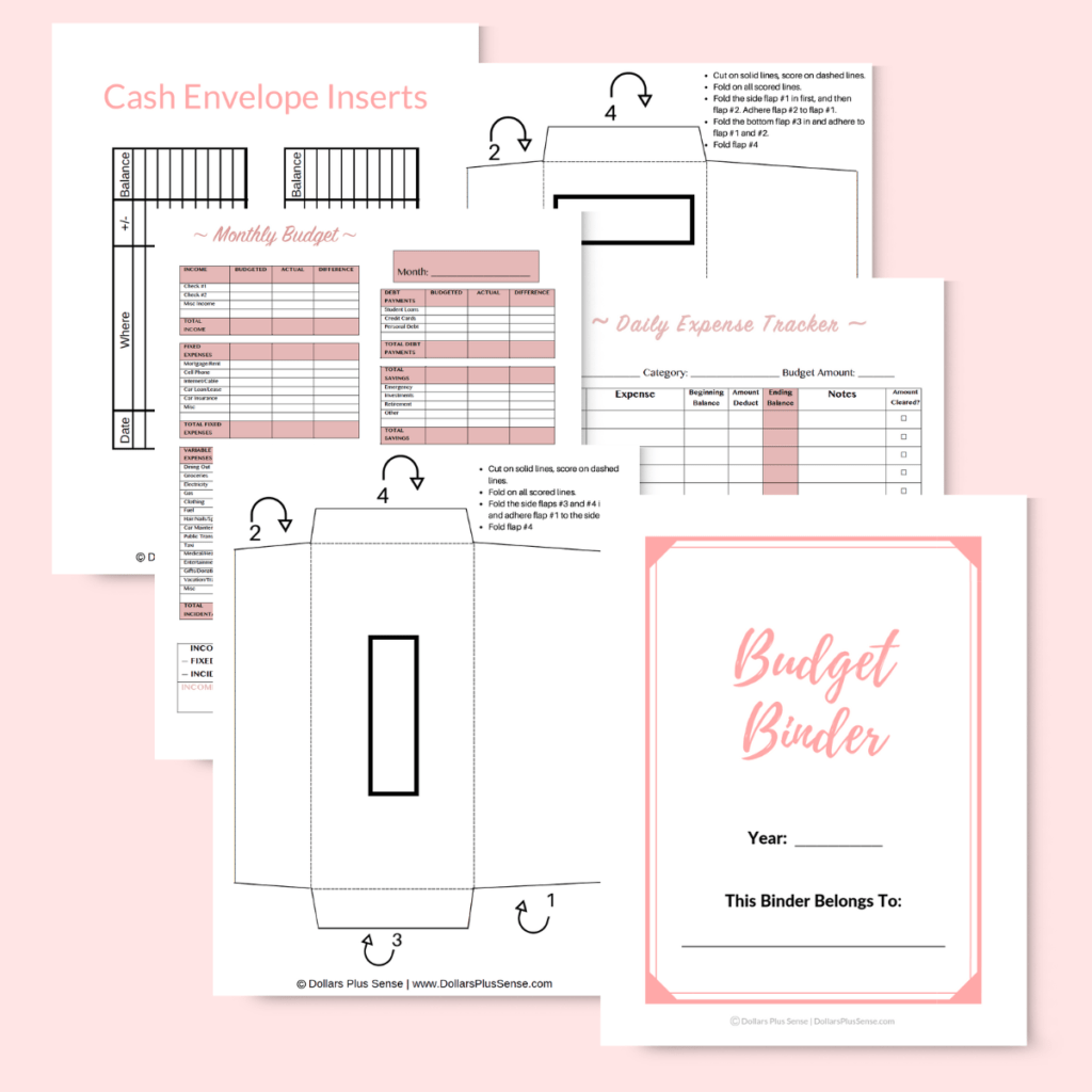 How To Make A Budget Worksheet For Beginners 5 Simple Steps