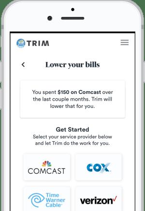 L'app Trim può farti risparmiare centinaia di dollari all'anno sulle spese comuni e fa tutto automaticamente.