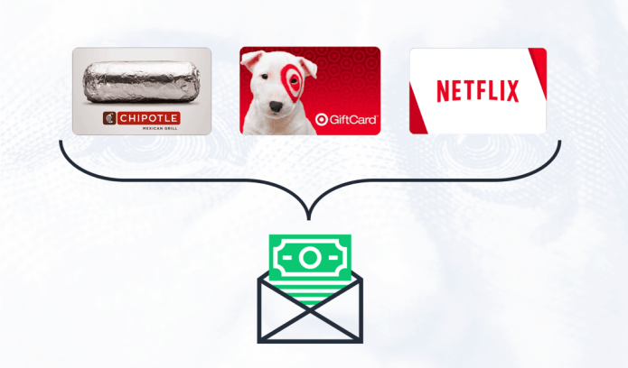 make money online by selling unwanted gift cards for cash