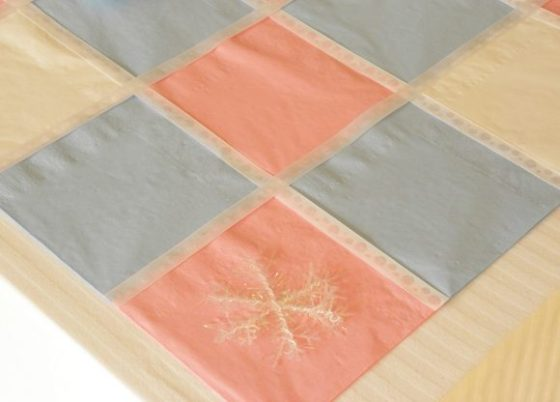 Paper Napkin Table Runner
