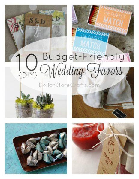 Diy Wedding Favors Budget