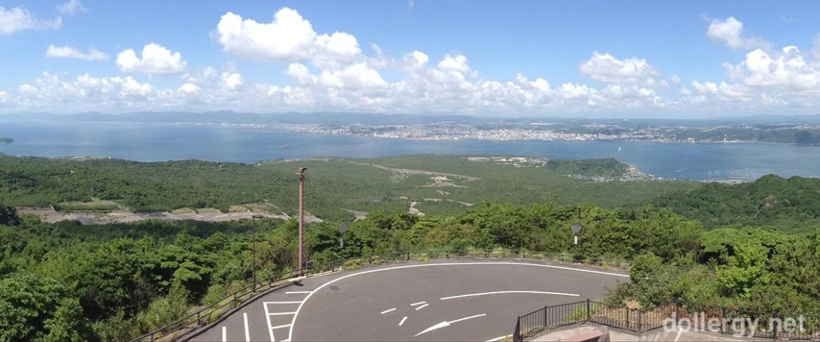 櫻島火山展望台