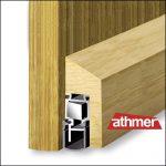 Athmer Tuerdichtung mit Holzabdeckung