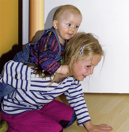 Klemmschutz Kita-Max Sicherheit an Kindergarten-Türen