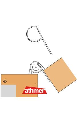 BD - Querschnitt - für stumpfe Türen