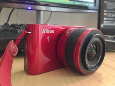 小さなミラーレスカメラ、Nikon 1 J1を買いました