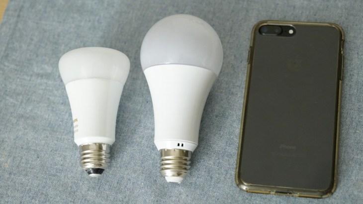 いろいろ遊べそう。Merossのスマートスピーカー対応フルカラーLED照明 MSL120