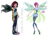 Jakks Pacific Winx Club Tecna Bloomix comparison 2