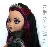 Mattel Ever After High Raven Queen Rebel Original Outfit head makeup 7