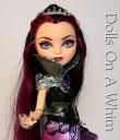 Mattel Ever After High Raven Queen Rebel Original Outfit torso hand