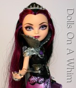 Mattel Ever After High Raven Queen Rebel Original Outfit torso hand