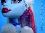 Mattel Monster High doll Abbey Abby Bominable School Outfit earrings jewelry face 2