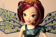 Winx Club Jakks Pacific Bloomix Tecna head face makeup