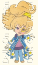 Dolls On A Whim Moon Dreamers Dream Gazer paper doll cutout outfit 1