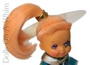 Hasbro Moon Dreamers Star Gazer Scorceress Scientist planetary orbit head piece saturn ring makeup head
