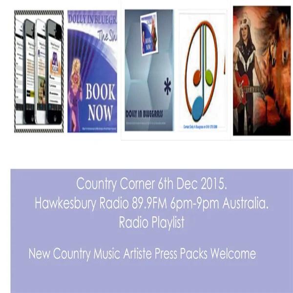 Country Corner 6th Dec 2015