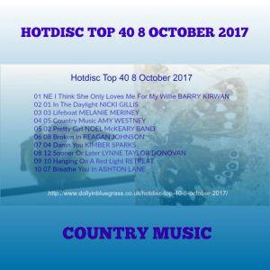 Hotdisc Top 40 8 October 2017