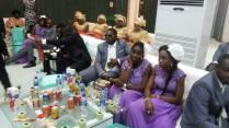 Goodluck Jonathan's Daughter's White wedding pics 12/04/2014 egosentrik.com