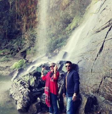 on Rizuk Waterfall