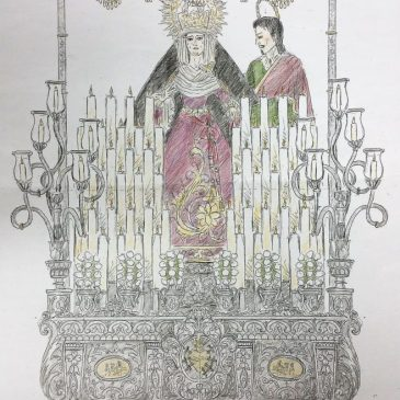 El palio de Ntra. Sra. de los Dolores será presentado el 21 de marzo