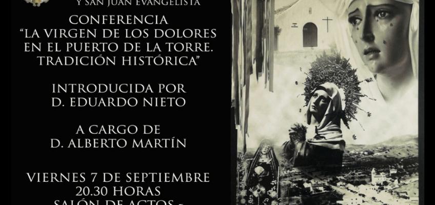 COnferencia Virgen de los Dolores en Puerto de la Torre