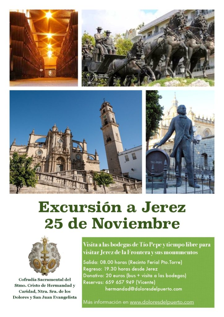Cartel Viaje a Jerez