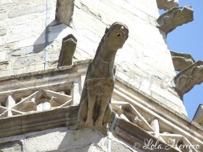 Gárgola de la Iglesia de Saint-Martin (Limoux, Francia)
