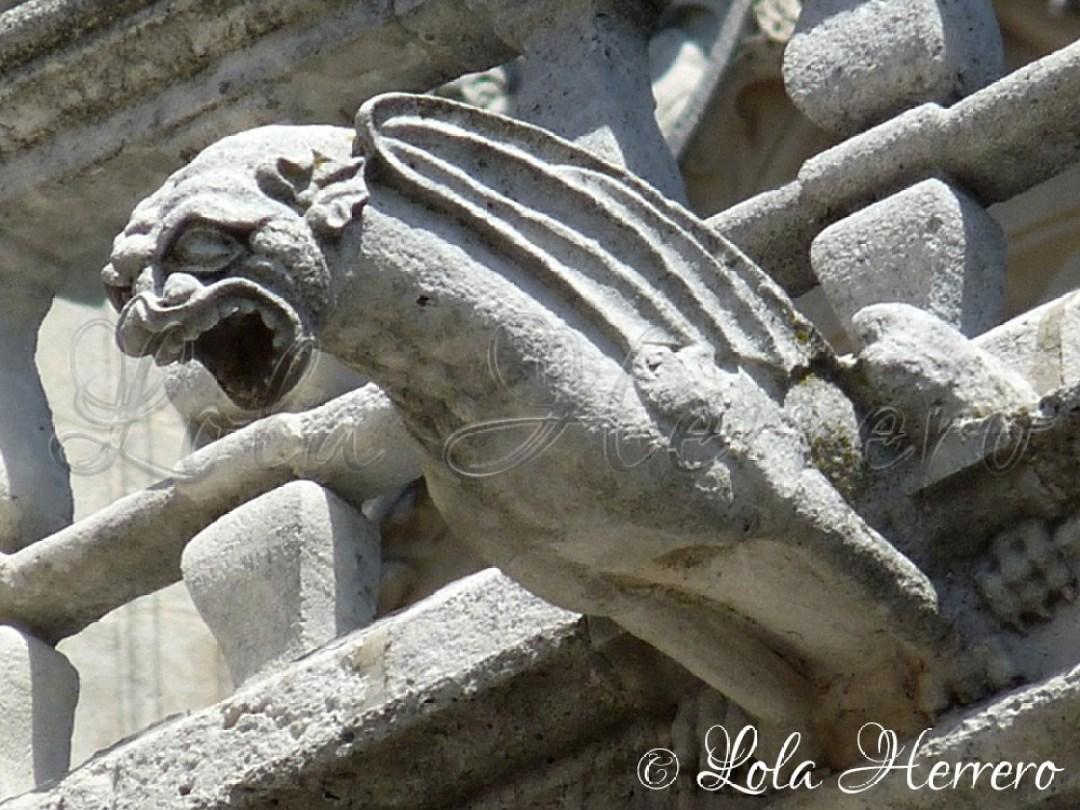 Gárgola Catedral Burgos 72