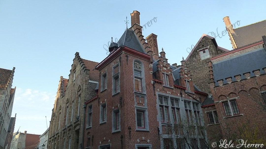 Calle Spanjaardstraat Brujas (Bélgica) (390)