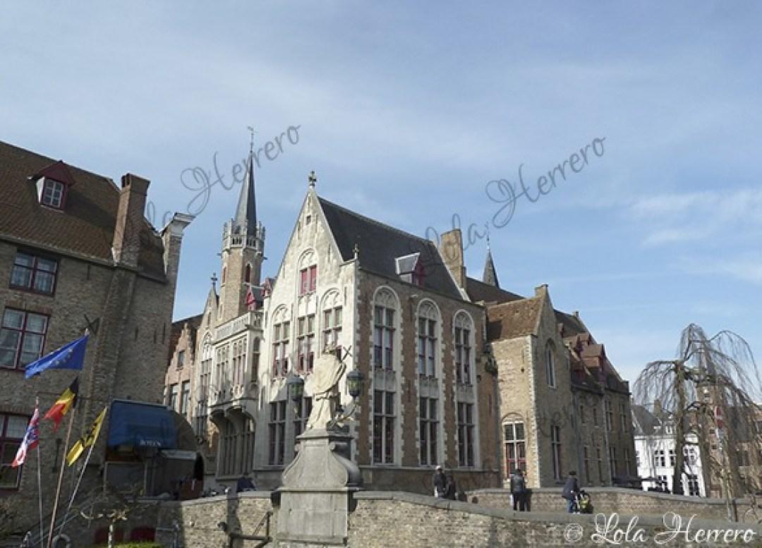 Calle Wollestraat Brujas (Bélgica) (393)