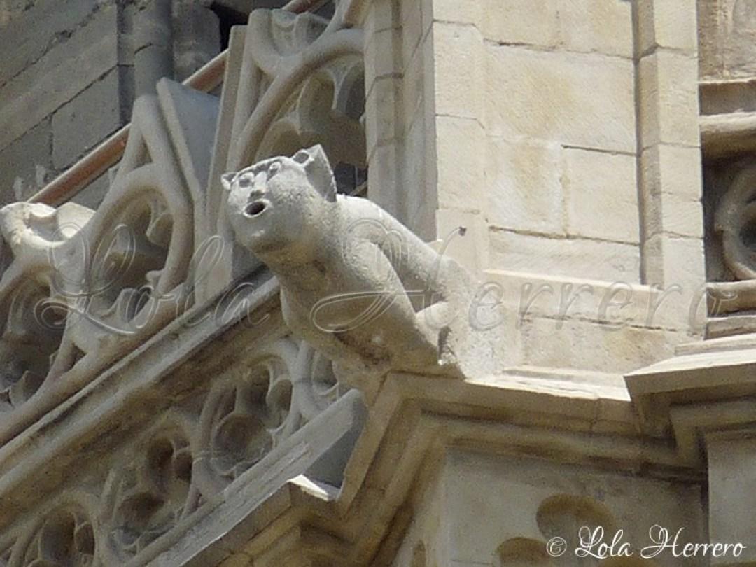 Gárgola Catedral Lleida (300)