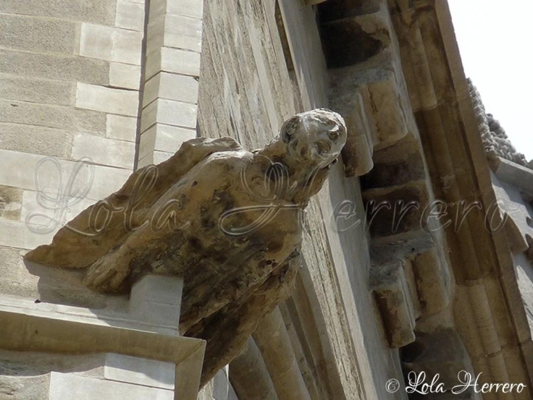 Gárgola Catedral Lleida (301)