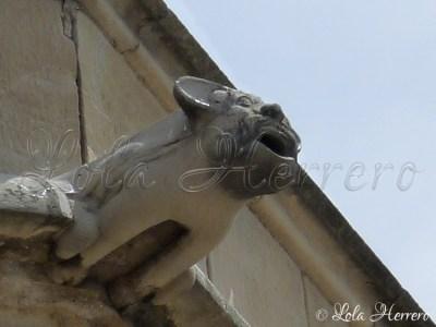Gárgola de la Catedral de Lérida